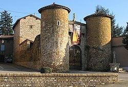 Le château de Lissieu.