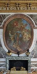 Château de Versailles, salon de la paix, Louis XV offrant ses deux filles en témoignage de paix à l'Europe, François Lemoyne.jpg