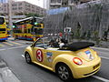 Chai Wan LO Wing Lok Open topless yellow automobile Sept 2012 HK 02.JPG