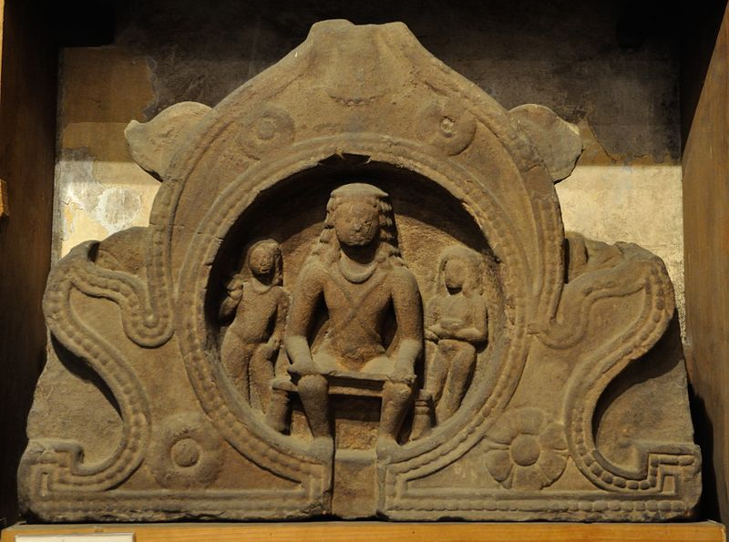 File:Chaitya Window - Indra - Circa 5th Century CE - Bhumara - Madhya Pradesh - Indian Museum - Kolkata 2013-04-10 7797.JPG