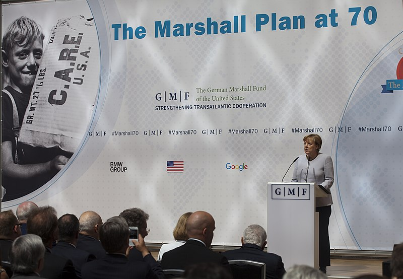 File:Chancellor Merkel gives her remarks at the German Historical Museum (35315264271).jpg