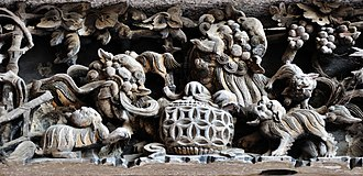 Teochew woodcarving - Image: Chaozhou Woodcarving in PN2