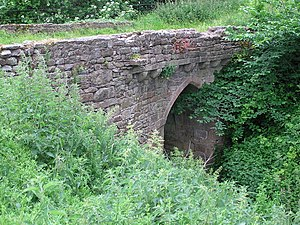 Grade II* listed buildings in County Durham - Image: Chapel Bridge , Barforth. geograph.org.uk 190518
