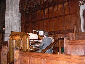 Mander Organs - Organ of Princeton University Chapel (1928); major rebuilding by Mander in 1991