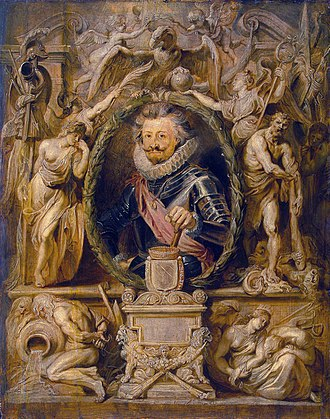 Charles Bonaventure de Longueval, 2nd Count of Bucquoy - Portrait by Peter Paul Rubens.