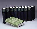 Charles Darwin, stack of nine volumes Wellcome L0026713.jpg