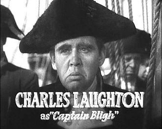 Mutiny on the Bounty (1935 film) - Image: Charles Laughton in Mutiny on the Bounty trailer