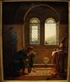 Charles VII écrivant ses adieux à Agnès Sorel.png