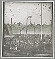 Charleston, S.C. April 14, 1865. Flag-raising ceremony, with Brevet Maj. Gen. Robert Anderson and Henry Ward Beecher present LCCN2014646445.jpg