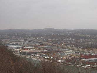 Chateau (Pittsburgh) - Chateau is the swathe of large warehouses and other industrial facilities between the Ohio River and Route 65.