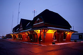 Image illustrative de l'article Gare de Chatham (Ontario)