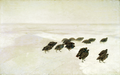 Chełmoński Partridges in the snow.png
