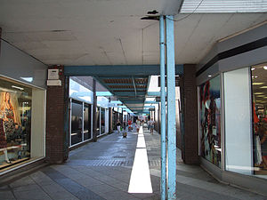 Bridgend - Old Cheapside, which is being extensively renovated