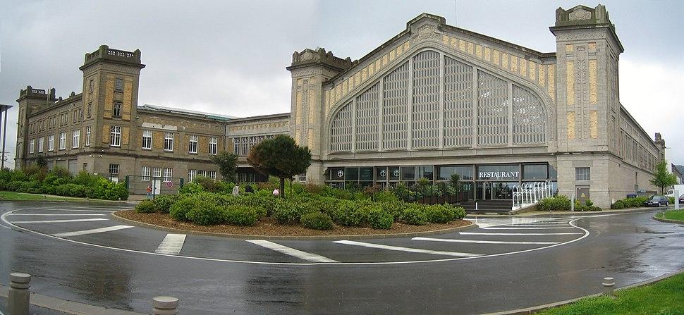 Cherbourg Gare Transatlantique Pano