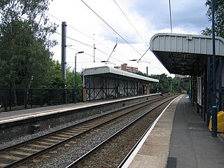 Chester Road railway station railway station serving the Pype Hayes and Erdington areas of north-east Birmingham, in the West Midlands county of England; situated on the Redditch-Birmingham New Street-Lichfield Cross-City Line