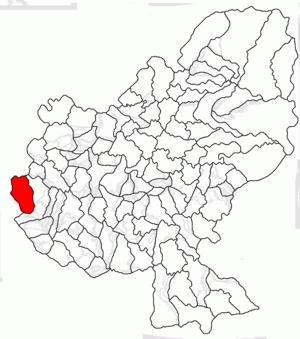 Chețani - Image: Chetani jud Mures