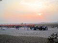 Chhath pooja at kankai mai river.jpg
