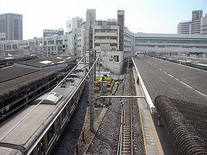 Chiba Station May 2005-2