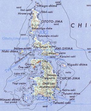 Chichijima - Image: Chichijima retto