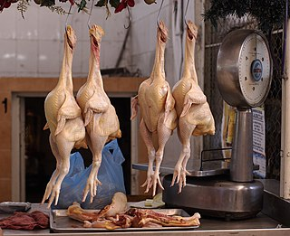 Chicken as food Type of meat