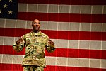 Chief Master Sgt. of the Air Force visit USASMA DSC 0093 (23683001578).jpg