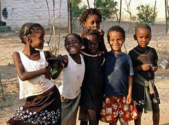Khorixas - Children in Khorixas