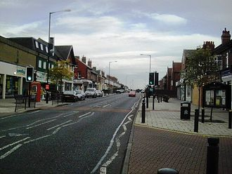 Heaton, Newcastle - Towards the north of Chillingham Road