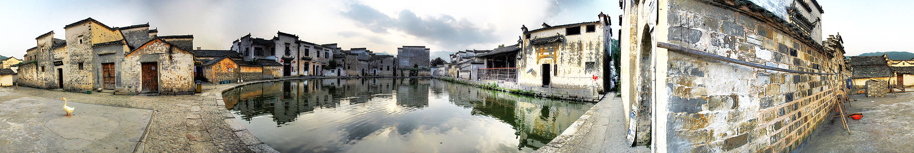 Panorama of Hongcun