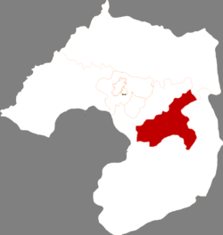 Location in Liaoyang