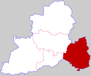 Shaoling District District in Henan, Peoples Republic of China