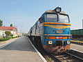 Chisinau to Odessa train at Bendry, Transnistria (14933937520).jpg