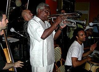 "Alfredo ""Chocolate"" Armenteros Jazz trumpeter"