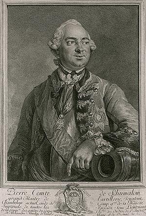 Peter Ivanovich Shuvalov - Image: Chouvaloff