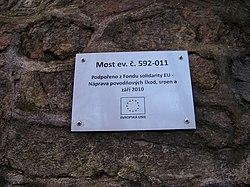 Chrastava-Andělská Hora, most 592-011, pamětní tabulka.jpg