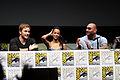 Chris Pratt, Zoe Saldana & Dave Bautista (9361558179).jpg