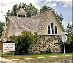 National Register of Historic Places listings in Madison County, Montana - Image: Christ Episcopal Church Sheridan Montana