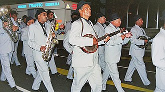 Cape Coloureds - The Christmas Bands are a popular Cape coloured cultural tradition in Cape Town