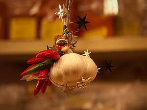 Christmas decoration at the Christmas Market i...