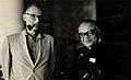 Chunilal Madia with Arthur Miller.jpg
