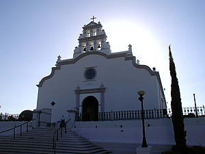 Bell-gable - Image: Church Coamo