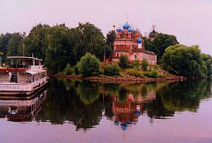 Dmitry of Uglich - Church of St. Demetrius on Blood in Uglich (17th century) - commemorates the murder of Tsarevich Demetrius