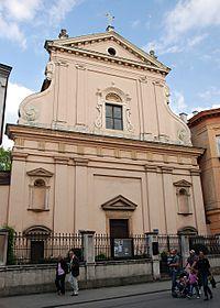 Church of St. Martin in Kraków.JPG
