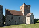 Church of St Mary-in-Castro, Dover Castle from the south-west.jpg