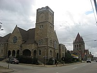 Churches on Fayette Street in Uniontown.jpg