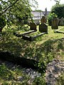 Churchyard and leat, Kingsteignton - geograph.org.uk - 1369757.jpg