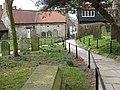 Churchyard path, Pickering - geograph.org.uk - 1772777.jpg