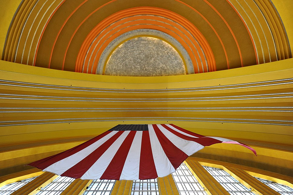 Cincinnati Union Terminal Ceiling