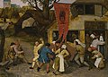 Circle of Pieter Bruegel the Elder - A VILLAGE KERMESSE.jpg