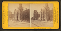 City College on the right, Academy of Music on the left, by Chase, W. M. (William M.), 1818 - 9-1905.png