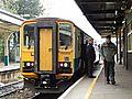 Class 153 at Cardiff Queen St. (15608284159).jpg